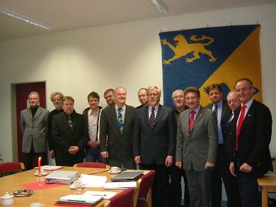 Historische erste Sitzung des Verwaltungsrates des Berufsbildungszentrums Schleswig