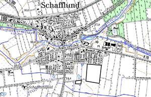 Schafflund, B-Plan 33 Lage Übersichtsplan