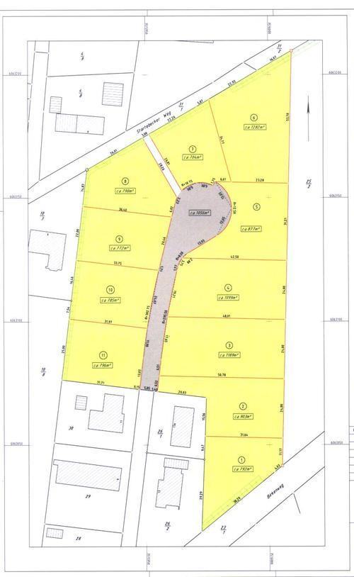B 13 Grundstücksgrößen